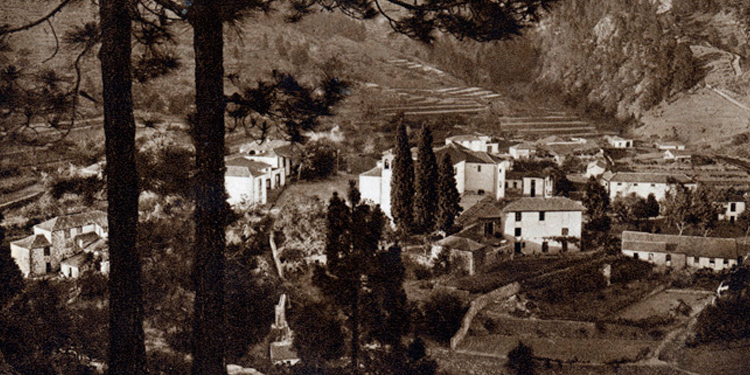 Foto antigua de Vilaflor